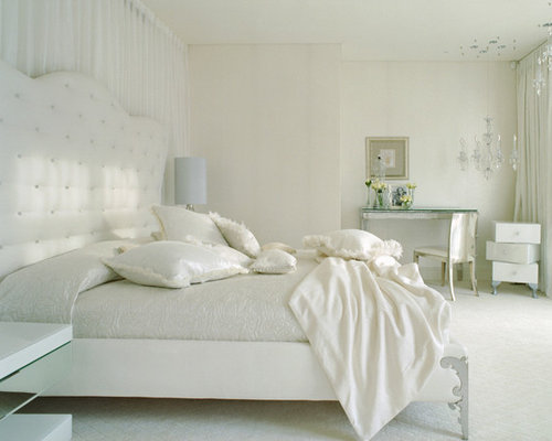 All white bedroom home design ideas pictures remodel and - White room decor ideas ...