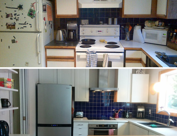 The 100-Square-Foot Kitchen: One Woman's $4,500 DIY Crusade