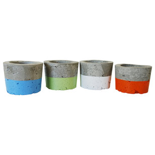 Industrial Outdoor Pots And Planters by Anson Design CO