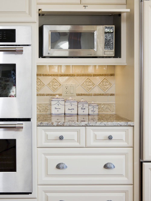 Microwave In Cabinet Home Design Ideas, Pictures, Remodel ...