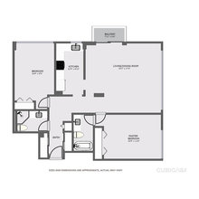 2D/3D unfurnished floor plans