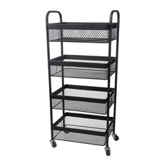 ... metal piece has four rectangular bins perfect for storing things like