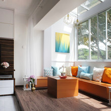Room Tour: A Sunny Extension for the Living Room