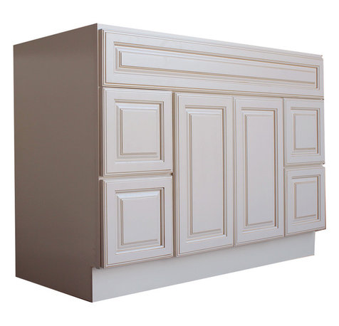 Toffee with Brown Glaze provides additional dimension to your cabinets ...