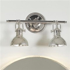 pullman bath light 3 light transitional bathroom. Black Bedroom Furniture Sets. Home Design Ideas
