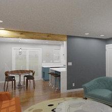 Oakland Lakeshore - Dark Wonder Duplex - Kitchen
