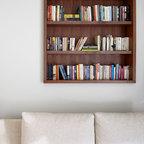 Mathews Drive Study Modern Family Room Austin By