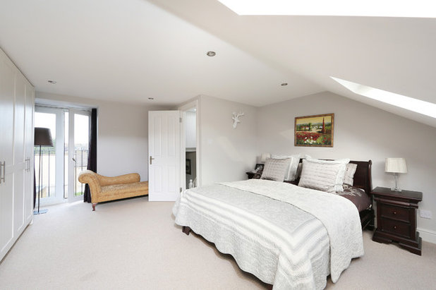 Contemporary Bedroom by nuspace - loft conversion & kitchen extension