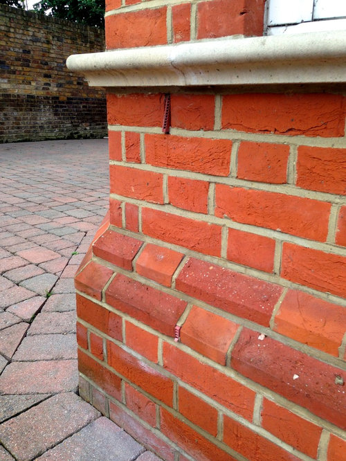 Brick Plinth Home Design Ideas Pictures Remodel And Decor