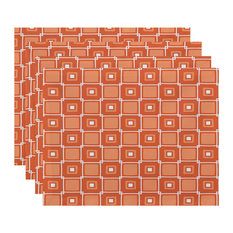 Square placemats houzz for Small square placemats
