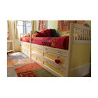 Alex Platform Bed Twin Size Modern Kids Beds By Ducduc