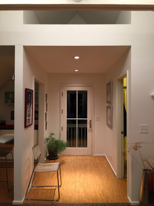 eingang mit korkboden hauseingang eingangsbereich gestalten. Black Bedroom Furniture Sets. Home Design Ideas