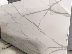 Zodiaq calacatta natura for Zodiaq quartz price per square foot