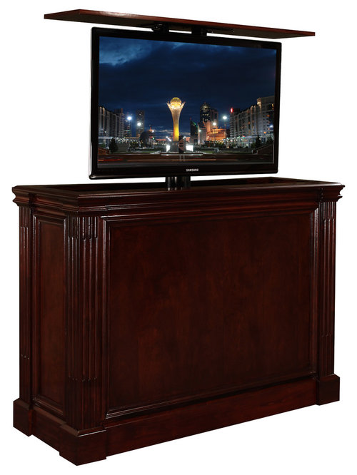 Traditional Tv Lift Kit Cabinet Furniture Comes In 16