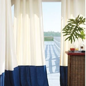 Outdoor Banded Drape