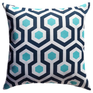 Contemporary Outdoor Cushions And Pillows by Land of Pillows