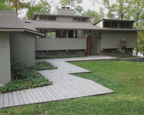 Wood walkway home design ideas pictures remodel and decor for Wooden walkway plans