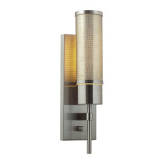 Hardwired Wall Sconce With On Off Switch : Wall Sconces With Switch Hardwired Iron Wall Sconces Houzz