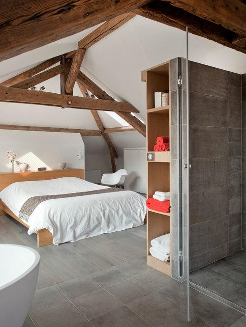 Peindre une chambre mansardee ~ Solutions pour la décoration ...
