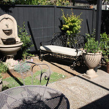 Before and After- Small Backyard Patch