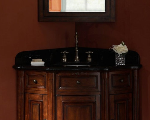 Innovative 32 Traditional Style Fiesta Antique Bathroom Sink Vanity CF2873SB