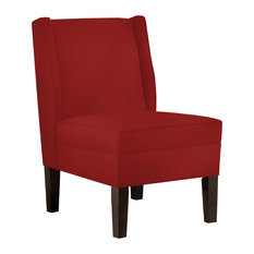 contemporary armless armchairs and accent chairs houzz