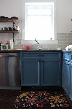 Paint oak cabinets white?
