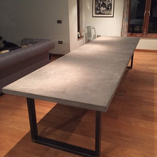 Contemporary Dining Tables By Daniel Polished Concrete