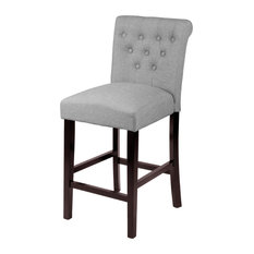 Monsoon Pacific Sopri Grey Counter Chairs Set Of Two