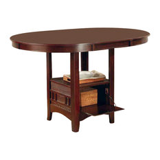Counter Height Gateleg Table : ... 42-Inch Counter Height Drop Leaf Storage Table Dining Tables Houzz