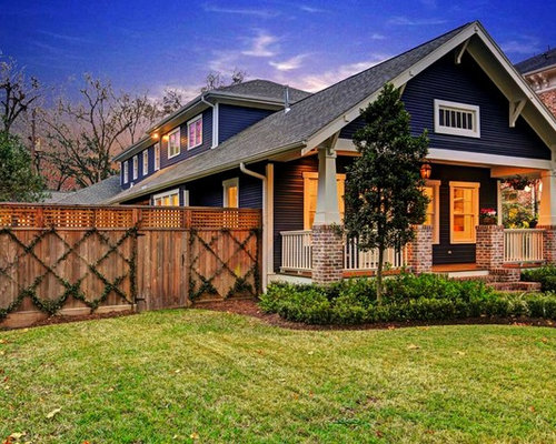 Historic Heights Bungalow Renovation Addition Transitional