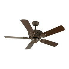 """- Craftmade Ceiling Fan, Aged Bronze Chaparral with 52"""" Aged Bronze ..."""