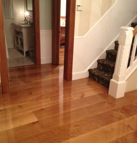 Wide plank quarter sawn white oak flooring in new jersey for Floors floors floors nj
