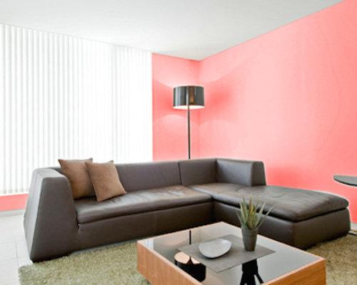 Pink Living Room Floor Tiles