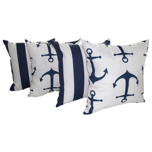 Beach Style Outdoor Cushions And Pillows by Land of Pillows
