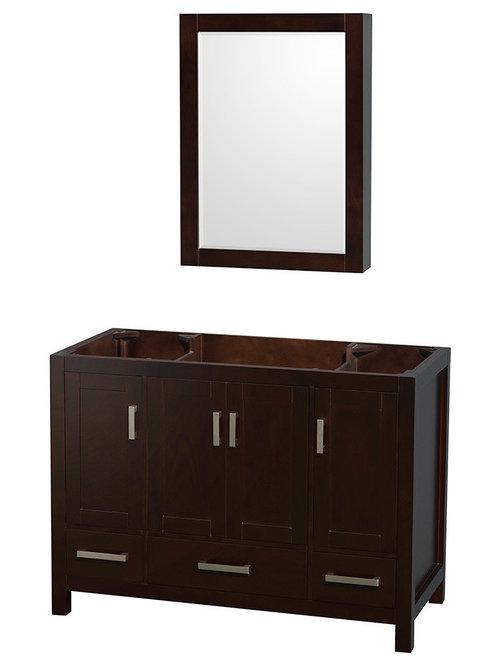 Bathroom Vanity Cabinets 3-Drawer Bathroom Vanity Bases | Houzz