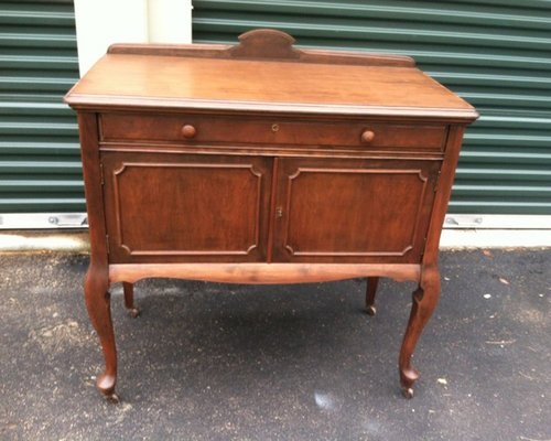 Vintage Buffet Table-1920s