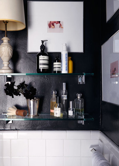 Eclectic Bathroom by Bachman Brown Design