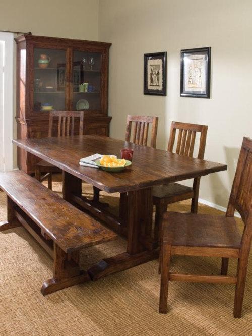 farmhouse dining room. Black Bedroom Furniture Sets. Home Design Ideas