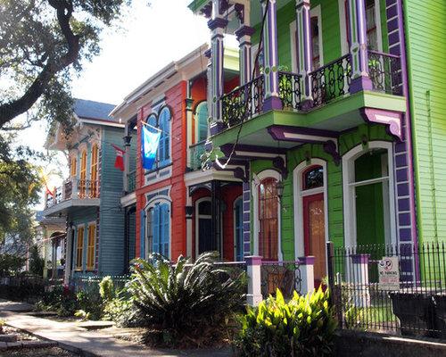Eclectic New Orleans Exterior Design Ideas Remodels Photos