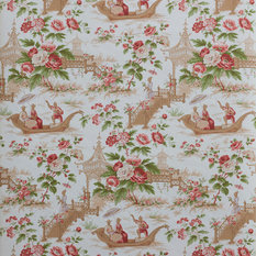 Waverly Wallpaper Wa7769 Mandarin Prose Oriental Asian Toile ...