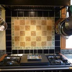 Kitchen Tile Stone Tile Backsplash The Rising Sun Craftsman Tile