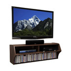 Wall Mounted Floating Tv Console Mayan Espresso