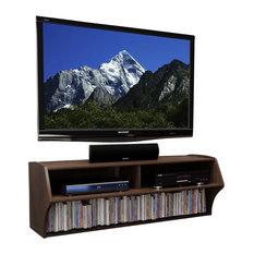 Prepac - Prepac Altus Wall Mounted Home Entertainment Console in ...