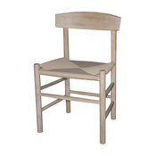 Side Chair with Woven Seat