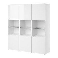 Shop Ikea Besta Cabinets Products on Houzz