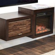 Midcentury Fireplaces Houzz