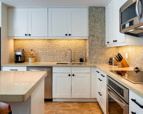 ... Separate Kitchen Design Ideas, Renovations & Photos with Cork Floors