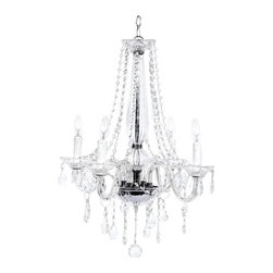 Crystal Chandelier With Crystalalls