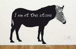 Zebra by Wall Spirit